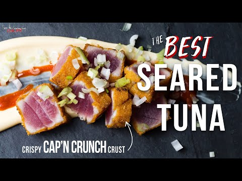 The Best Seared Tuna You'll Ever Make | SAM THE COOKING GUY