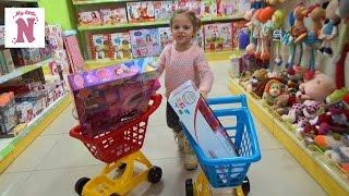 VLOG Шопинг в детском магазине покупаем новые игрушки Shopping in kid