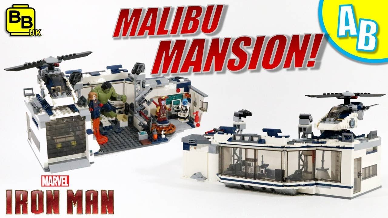 LEGO IRON MAN MALIBU MANSION 76131 ALTERNATIVE BUILD
