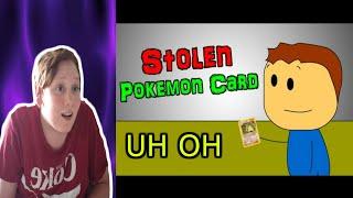 Oh No! Brewstew - Stolen Pokemon Card Reaction!