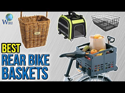 10 Best Rear Bike Baskets 2017