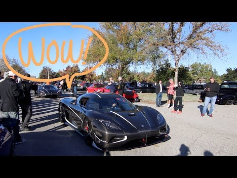 KOENIGSEGG SPOTTED AT SUPER CAR SUNDAY WOODLAND HILLS
