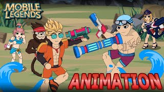 MOBILE LEGENDS ANIMATION #74 - SUMMER SHOWDOWN PART 1 OF 2