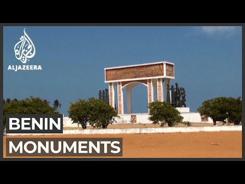 Benin city restores monuments from slave trade era