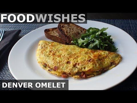 The Denver Omelet – Food Wishes – American-Style Omelet