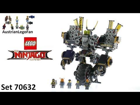 Vidéo LEGO Ninjago 70632 : Le Robot Sismique