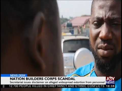 Nation Builders Corps Scandal - News Desk on JoyNews (17-10-18)