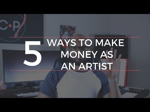 5 Ways To Make Money as an Artist
