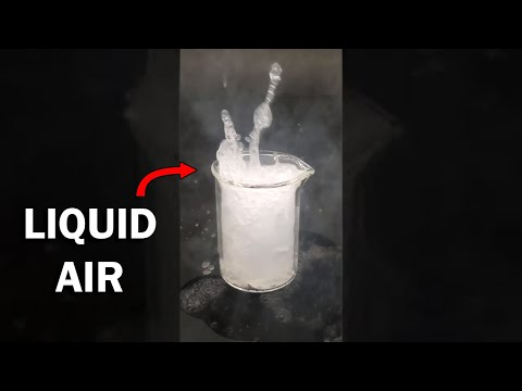Can You Turn Air Into a Liquid?