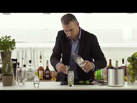 Basil Gin-ger met alcohol.