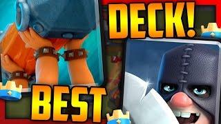 WIN BATTLE RAM CHALLENGE EASY!! CLASH ROYALE Best Battle Ram Deck!