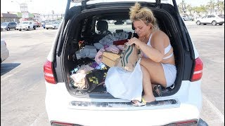Cleaning Out My Car For the First Time Since I Bought It! (GROSS)