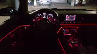 Audi A8 4.2 quattro- Preview Led ambientbeleuchtung, led standlicht, led Nebelschwenfer.
