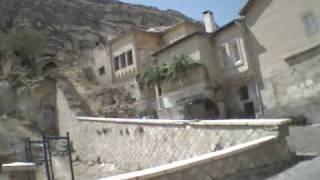 preview picture of video 'ktm lc4Helmet cam Turkish village near Cappadocia helmetcam ktm'
