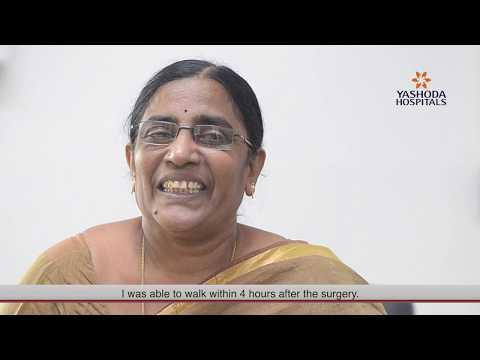 Successful Knee Replacement Surgery by Dr  Dachepalli Sunil | Yashoda  Hospitals