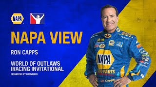 Ron Capps NAPA View- World of Outlaws Invitational
