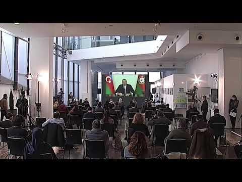 """İlham Əliyev bu sözləri ilk dəfə dedi:  """"Türkiyə -Rusiya Birgə Monitoring Mərkəzi..."""" @TV Musavat"""