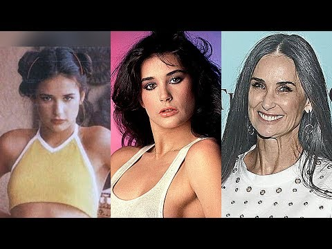 Demi Moore Transformation 2019 || From 1962 To 2019