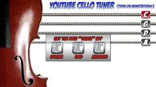 YOUTUBE CELLO TUNER