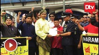 Wira PUTRA ke Bukit Aman serah memorandum haram Dong Zong