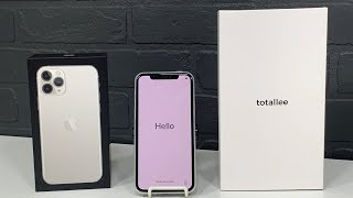 IPHONE 11 PRO ( SILVER ) & TOTLLEE CASE UNBOXING