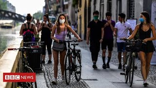 Coronavirus: Italy eases restrictions - 10 weeks after leading world into lockdown - BBC News