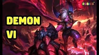 Demon Vi Skin Spotlight - League Of Legends