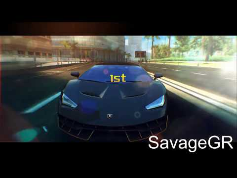 Asphalt 8 Lamborghini Centenario R D First Look Sound Test 1 2 3 4 5
