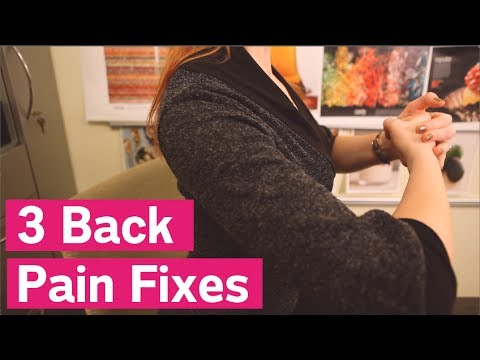 3 Simple Ways to Relieve Back Pain in Just 60 Seconds