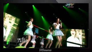 [Perf/HD] Jessica, Tiffany, Seohyun - Oh! My Love