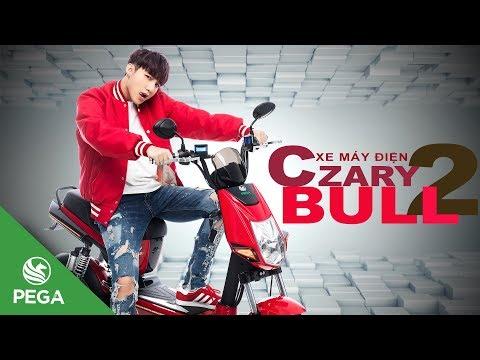 quảng cáo xe máy điện Pega Crazybull2