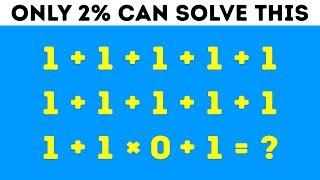 9 Math Riddles Thatll Stump Even Your Smartest Friends