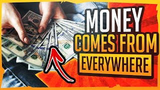 Abraham Hicks – MONEY COMES FROM EVERYWHERE