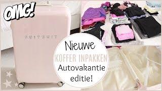 KOFFER INPAKKEN - Autovakantie editie! | Lifestyle Spot