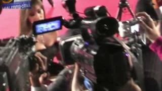 Monica Bellucci e Vincent Cassel sul Red Carpet al Roma Film Fest 2008