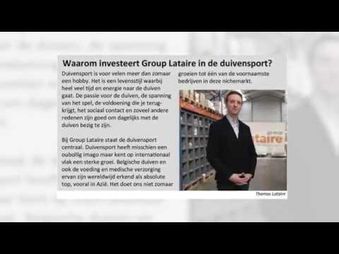 Video Group Lataire neemt Dreampigeons, Belgian Winners en Coolbird over