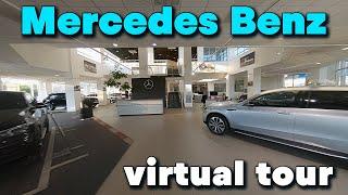 Mercedes Showroom - FPV