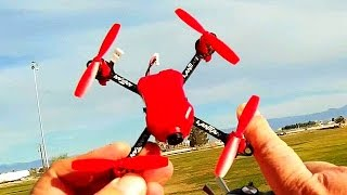 Lantian LT105Pro Micro FPV Racing Drone Flight Test Review