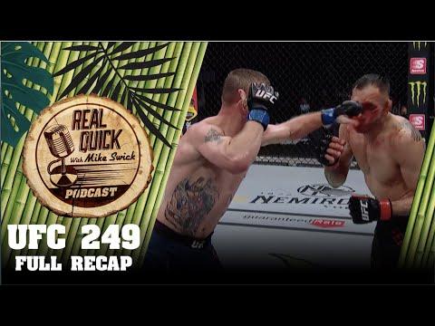 UFC 249 Tony Ferguson vs Justin Gaethje – Full Recap