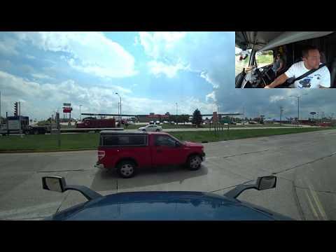 August 14, 2019/659 Trucking with mama. Sheboygan, Franksville WI to Madison, Illinois