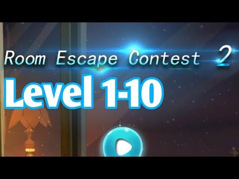 Room Escape Contest 2 Level 1 2 3 4 5 6 7 8 9 10 Walkthrough