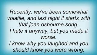 Arab Strap - Soaps Lyrics