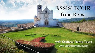 preview picture of video 'ASSISI - Private Tour with Stefano Rome Tours'