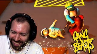 ROOFTOP FAILURES   Gang Beasts Online Funny Moments Part 36