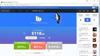 WaveScore. Делай деньги, ничем не рискуя. Заработок без вложений.