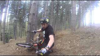 preview picture of video 'Chicksands Drift Track Crash'
