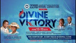 RCCG NORTH AMERICA CONVENTION 2018   ORDINATION