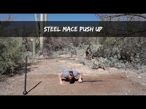 Steel Mace Push Up