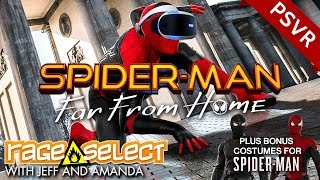 Spider-Man: Far From Home (Virtual Reality and PS4 Costumes) - The Dojo