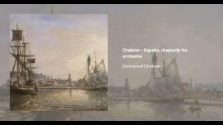 España, rhapsody for orchestra